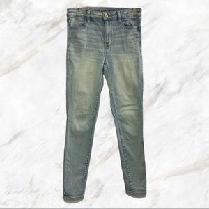 AEO | Light Blue Ne(x)t Level Stretch Skinny Jeans